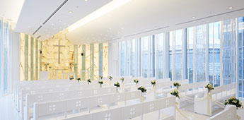Chapel of Lights in Tokyo Dome Hotel