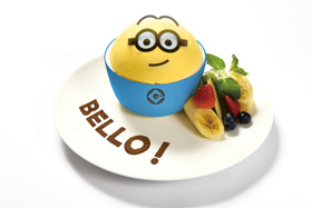 MINIONS CAFE custard pudding