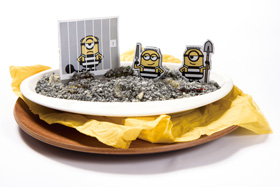 MINIONS prison break rice gratin