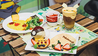 Pokémon collaboration café
